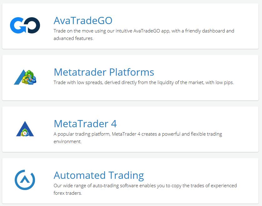 AvaTrade Review: Trading Platforms