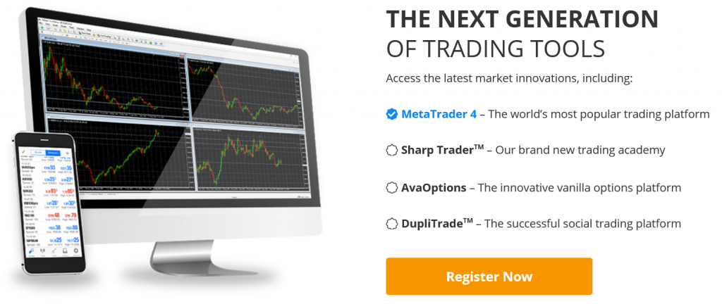 Best Forex Brokers: AvaTrade Trading Tools