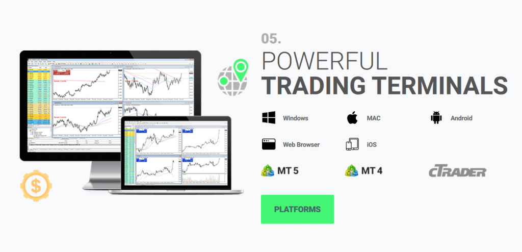 Best Forex Brokers: IC Markets Platforms