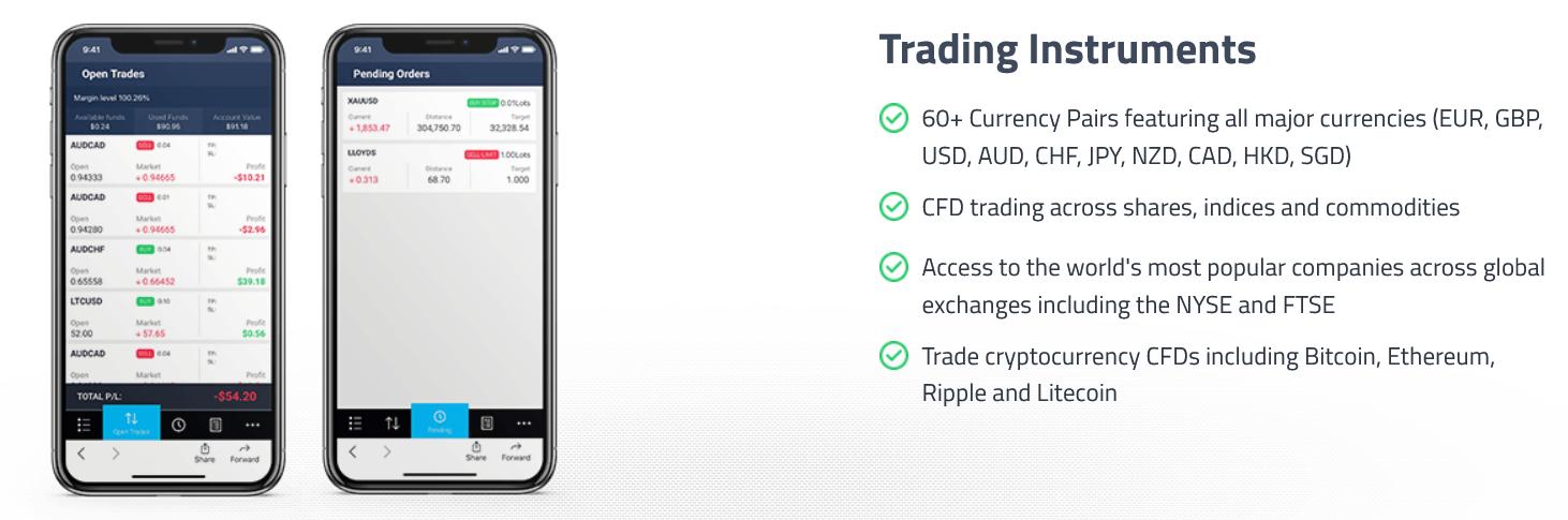 FP Markets Trading App