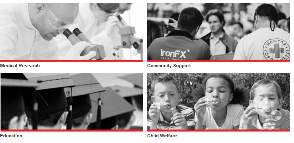 IronFX Review: Social Responsibility