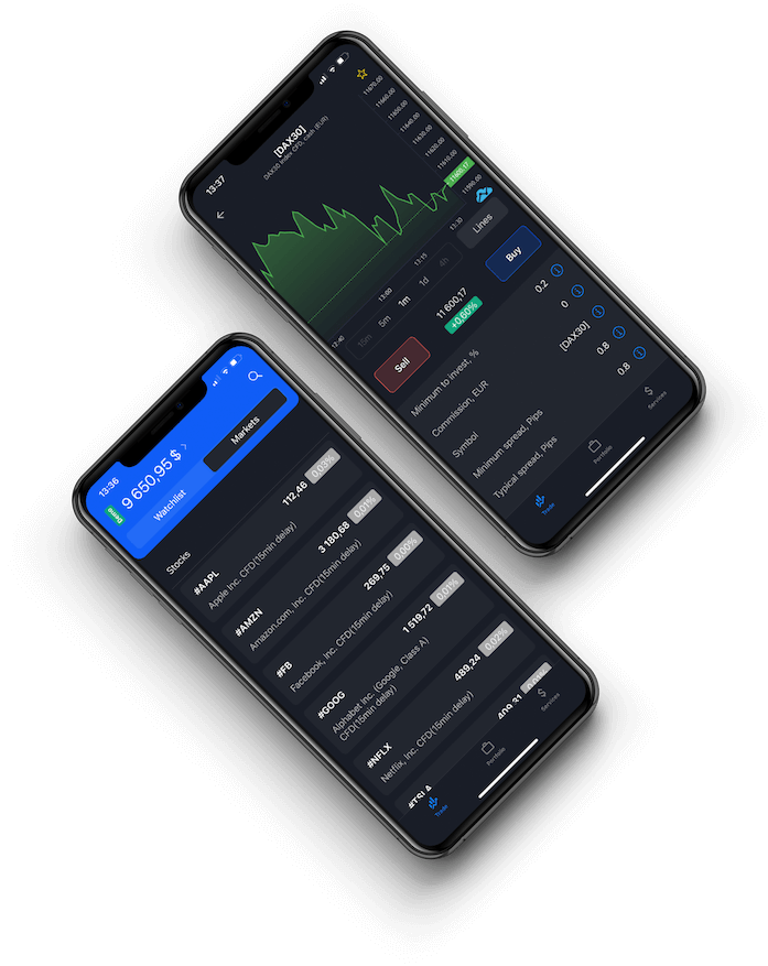 Admiral Markets Trading App