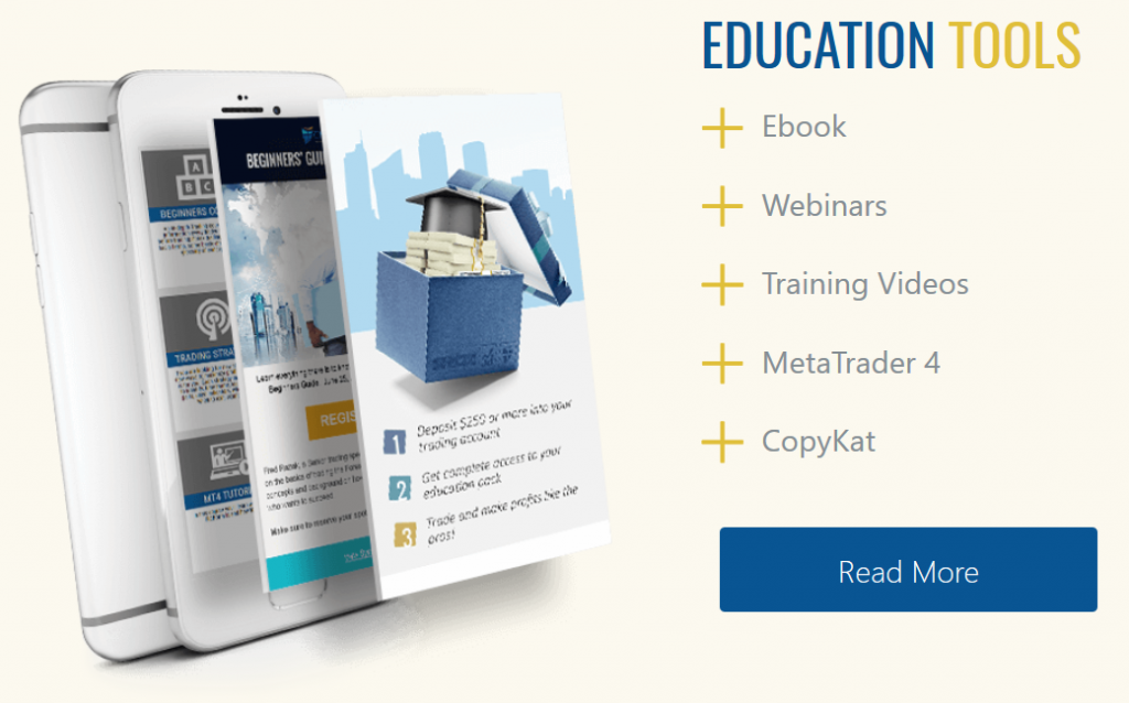CM Trading Review:  Education & Tools