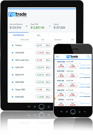 Fortrade Mobile Fortrader