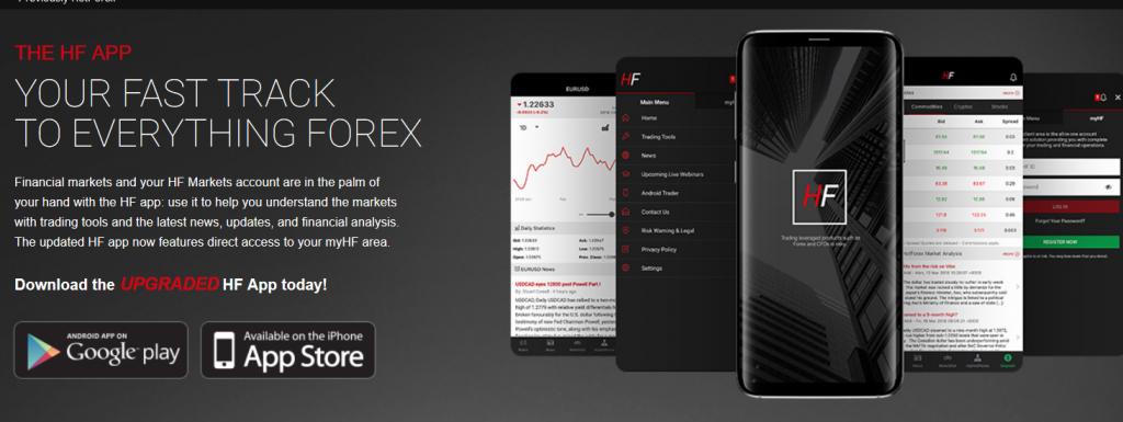 HF Markets App