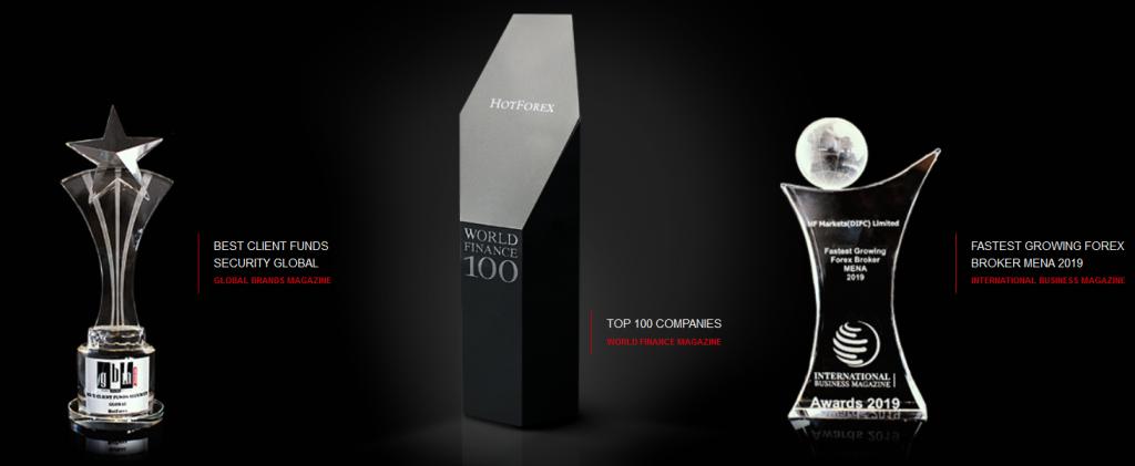 HF Markets Awards