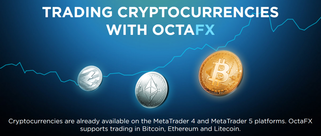 OctaFX Review: Cryptocurrency Trading