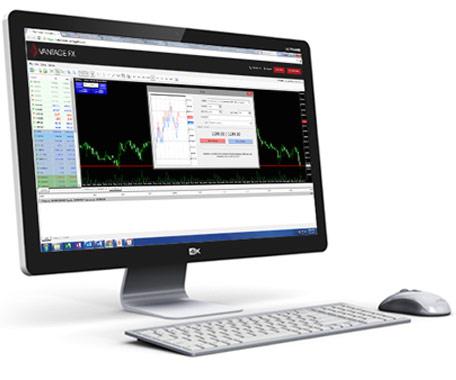 Vantage FX Review: MetaTrader (MT4) Web Trader