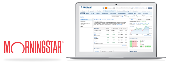 Firstrade Review: Morningstar Research