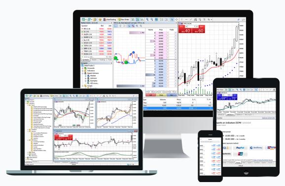 Fusion Markets MetaTrader 5 (MT5) Platform