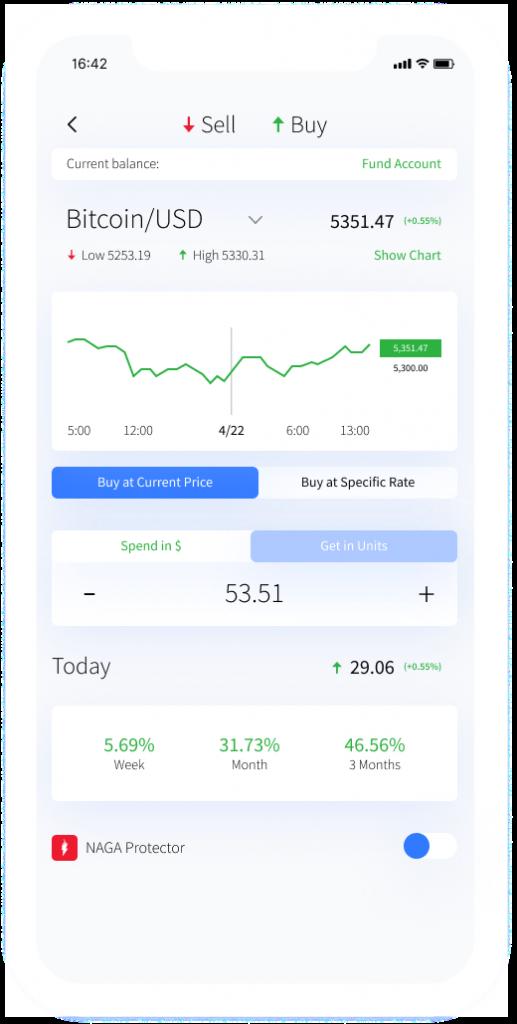 NAGA Mobile Trading Platform
