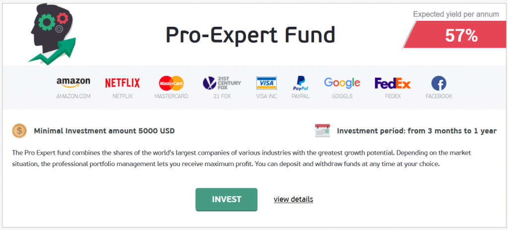 NordFX Review: Pro-Expert Fund