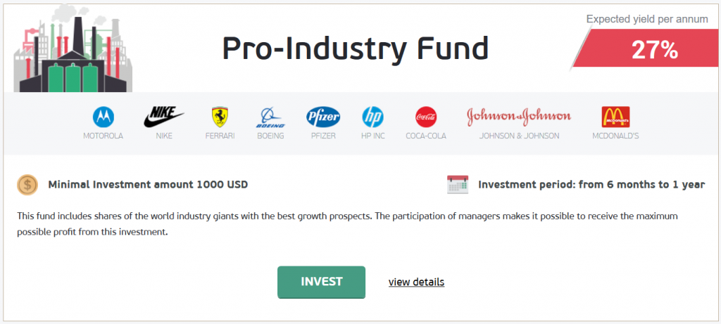 NordFX Review: Pro-Industry Fund