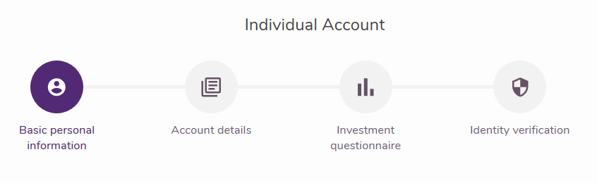 Purple Trading Review: Account Application