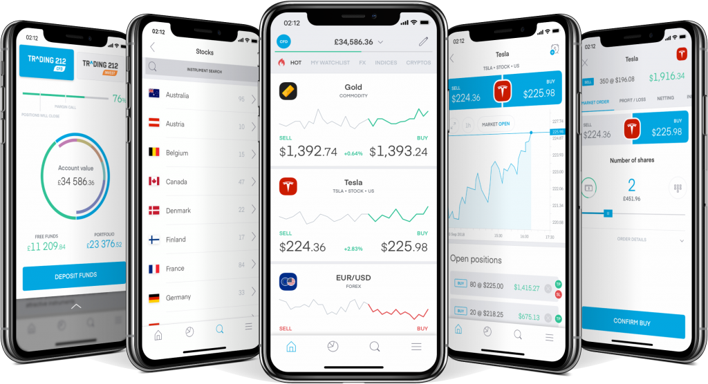 Trading 212 Review: Mobile Application