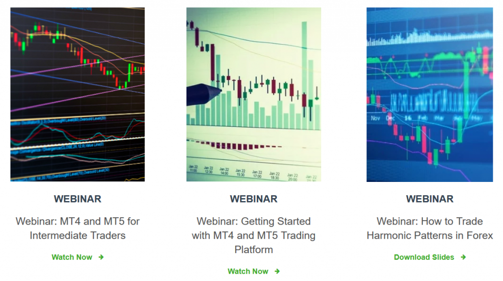 Valutrades Webinars & eBooks