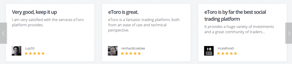 eToro Review: Client Feedback