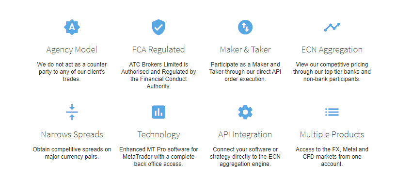 ATC Brokers Features