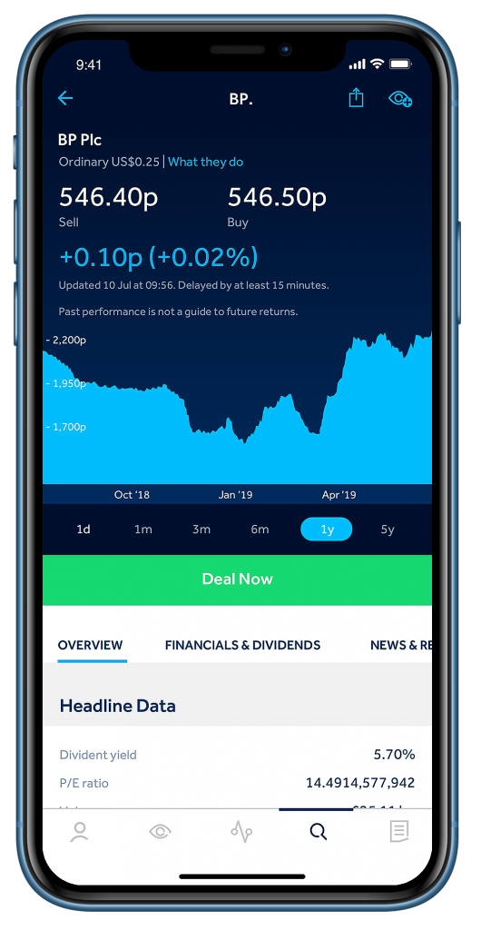 Hargreaves Lansdown Review: Mobile Trading App