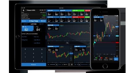 Mobile platform trade stocks