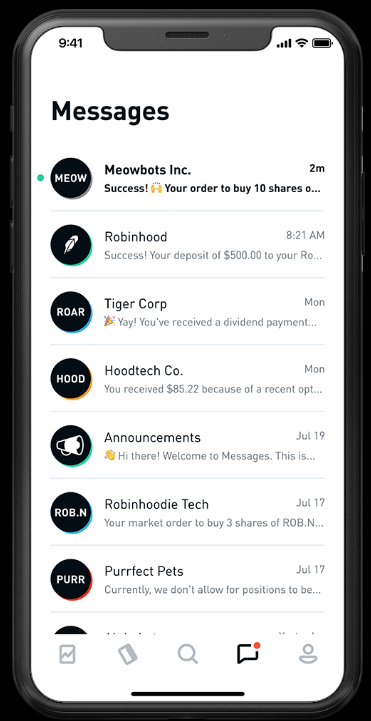 Robinhood Review: Trading App Notifications