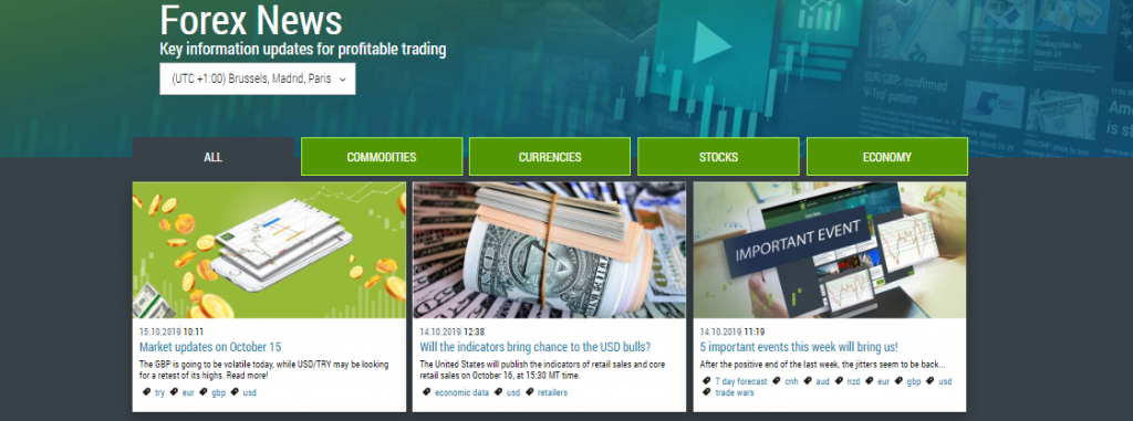 FBS Review: Forex News
