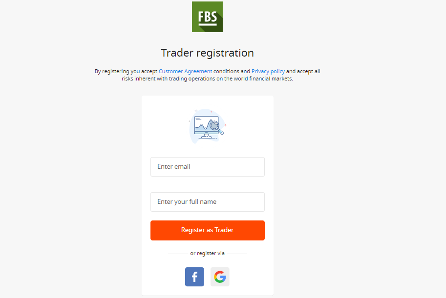 FBS Review: Online Broker Account Form