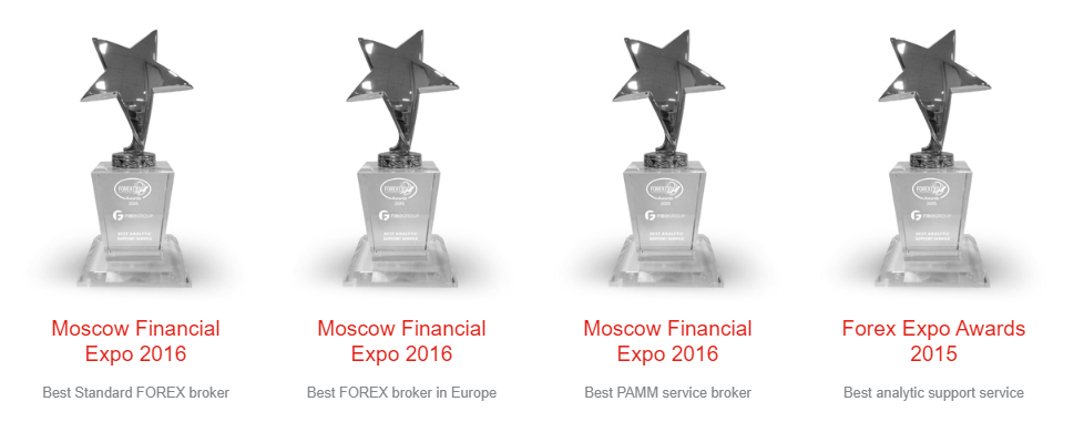 FIBO Group Review: Broker Awards