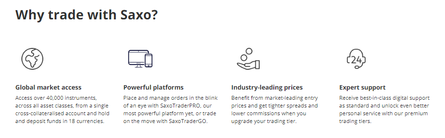 Saxo Markets Review - Broker Features