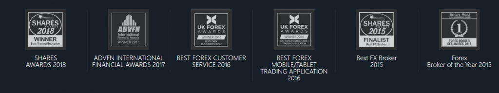 GKFX Review: Broker Awards