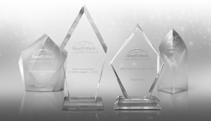 SuperForex Review: Broker Awards