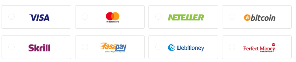 AAFX Trading Review: Account Payment Options