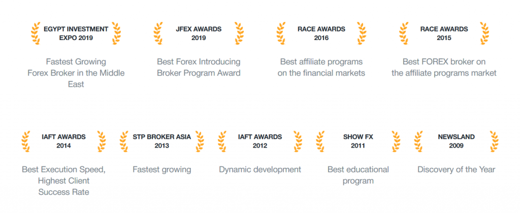 AMarkets Review: Brokerage Awards