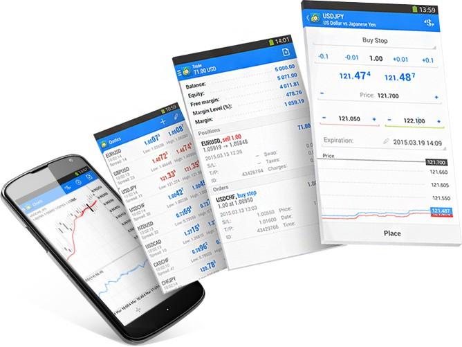 FirewoodFX Review: MetaTrader 4 Mobile Platform