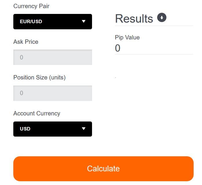 GBE Brokers Pip Calculator