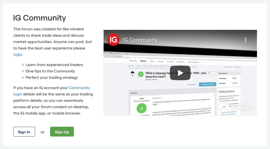 IG Community