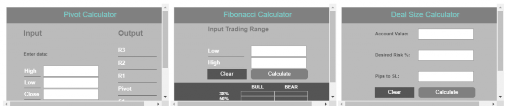 LQDFX Traders Calculators