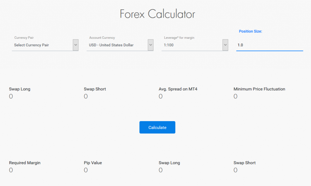 LeoPrime Review: Forex Calculator