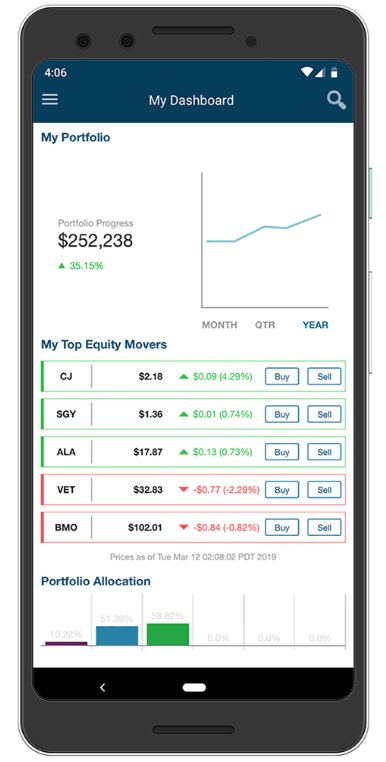 Qtrade Review: Mobile Trading Platform