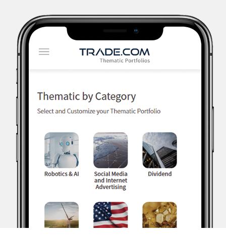 Trade.com Review: Thematic Portfolios