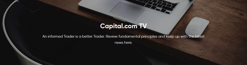 Capital.com Review: Capital.com TV