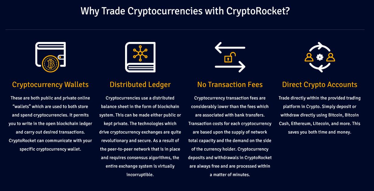 CryptoRocket Crypto Trading