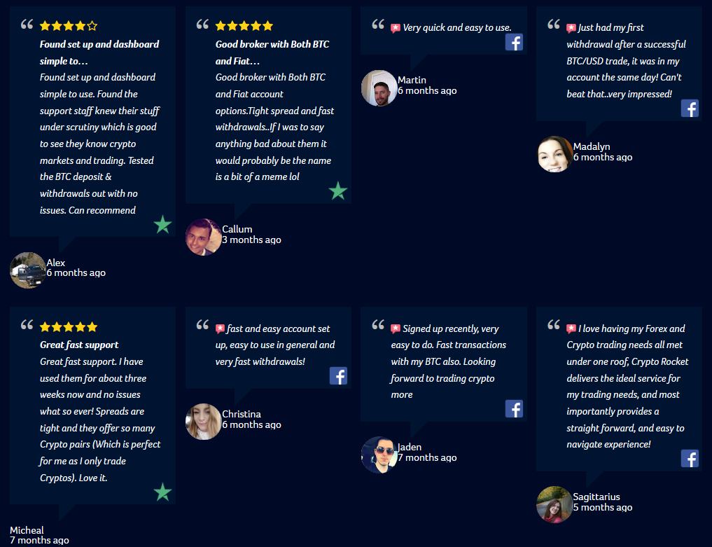 CryptoRocket Review: Client Feedback