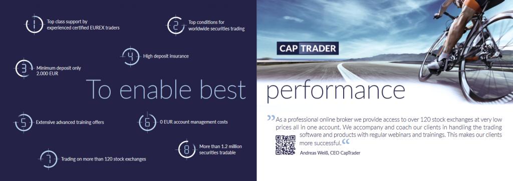 CapTrader Broker Features