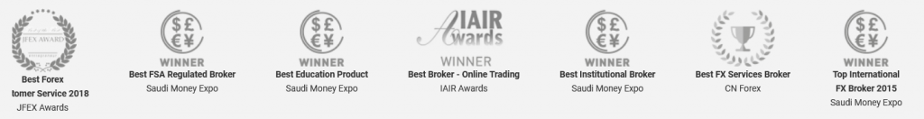 One Financial Markets Review: Broker Awards