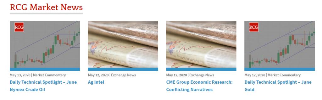 RCG Review: Market News