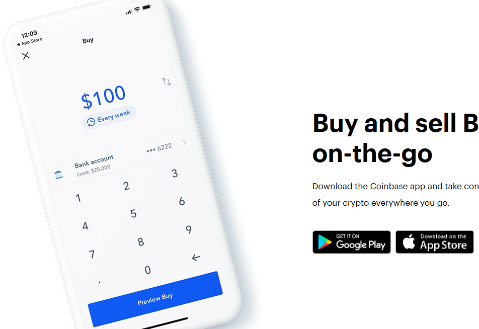 Coinbase Review: Mobile App