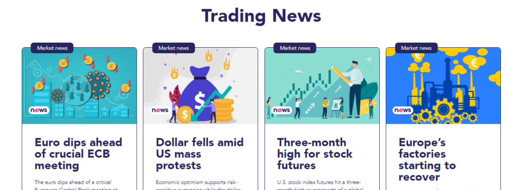 Eurotrader Review: Trading News