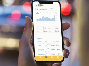 FinecoBank Mobile Trading App