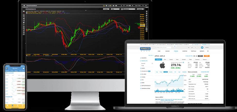 FinecoBank Review: Trading Platforms
